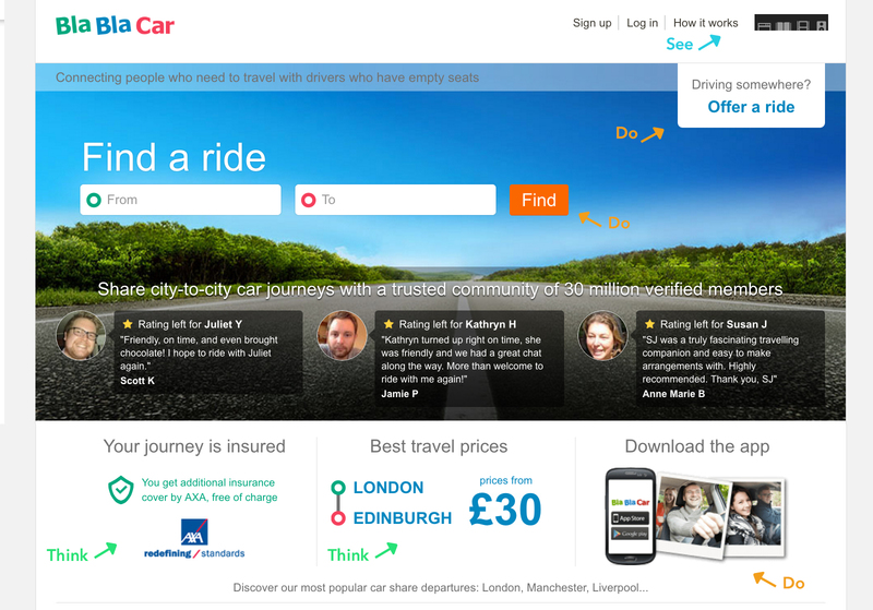 blablacar framework see think do care главная Англия