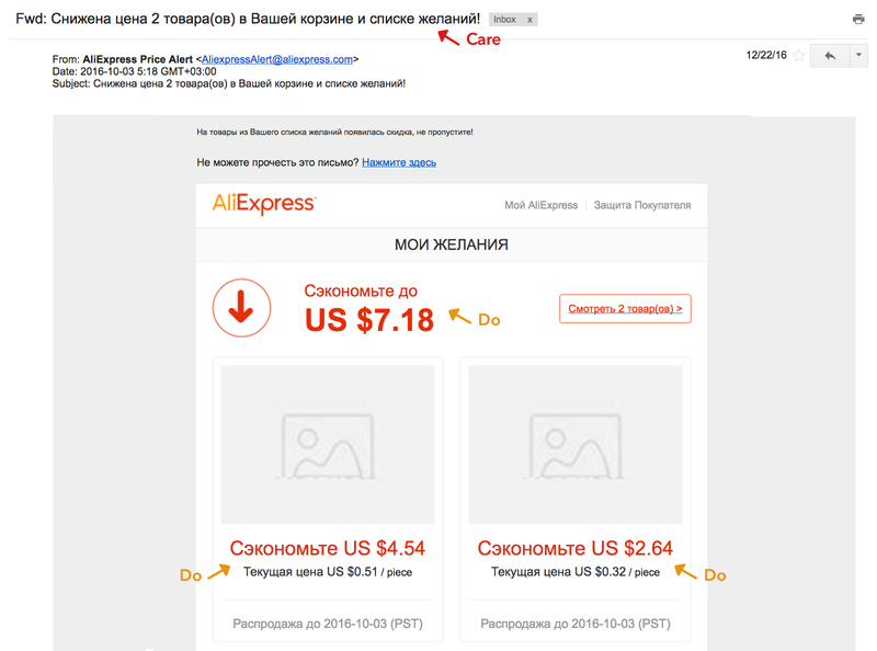 aliexpress framework see think do care рассылка